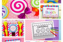 Candy land bday / by Leandra Shellman