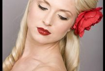 50s hairstyles and makeup
