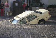 Accidentes Insolitos / Aquí hay una selección de accidentes insólitos ... Y afortunadamente, no trágicos! / by ElegiSeguro Argentina