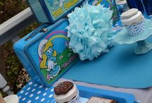Party ideas ( smurfs )