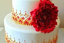 Indian wedding cakes / by Sruthi Rn