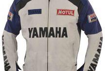 yamaha jacket blue and white