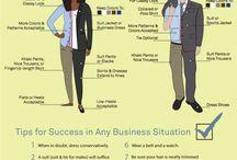 Dress Attire Infographics