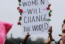 FEMINISM / WOMEN POWER//Equality