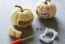 Halloween pumpkins / These are really cool pumpkin ideas and some are easy to do!