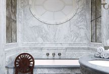 bathroom elegance / Function and form elegantly entwined in the most practical spaces.