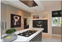 Schilderij in de keuken