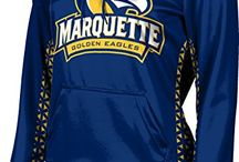Marquette University / Marquette University Apparel  for Men and Women - Fully sublimated, licensed gear. This is the perfect clothing for fans and it makes for a great gift! Find spirit, comfort, and style all in one - Made by Sportswearunlimited.com