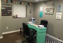 Home Nail Salon Ideas