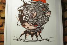GRAVURAS / Obras feitas pelo artista plástico Andre Gonzaga Dalata