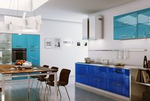 Blue Color Kitchen Ideas