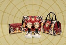 Versace Ornamental Collection / Versace pays tribute to the majestic city of Milan with the unique Ornamental Collection.  Exclusively available at the Versace boutique in the Galleria Vittorio Emanuele II in Milan and online for Europe on versace.com #VersaceOrnamental  / by Versace