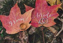 Mood Board ~ Fall Wedding