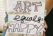 Art + Creativity = Happy! / by Tera Holland