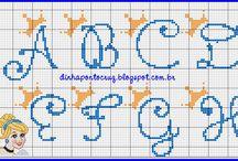 alfabeto cinderela