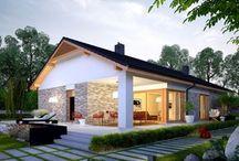 földszintes házak