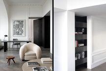 Interior design. / Béton Brut's favourite interior design.