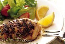 Grilled Thyme Chicken Recipe