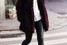 how to: style fur coats/jackets