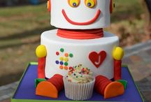 Party 5th birthday Robot / by Jolie Strachan