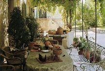 Garden things / Wells walls etc