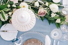 Rose & Serenity Wedding Concepts / rose and serenity palette wedding