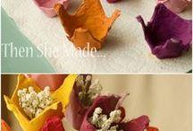 fiori uova