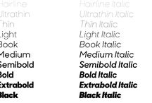 Typefaces / List of favourite typefaces old and new