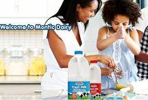Milk / With Fresh milk that stays fresh longer! www.montic.co.za