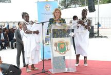 Pose de la Première pierre de l'hôpital mère enfant de BINGERVILLE / Le samedi 29 juin 2013, la Fondation Children Of africa a procédé à la pose de la première pierre de l'hôpital mère-enfant qu'elle a décidé d'offrir aux femmes et aux enfants de Côte d'Ivoire.
