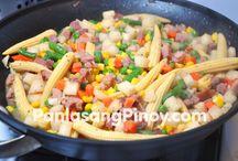 Pinoy recipe / Food