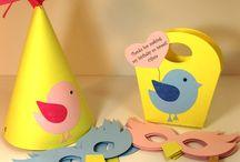 Bird theme party