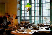 Silversmithing  / Workspace and tool inspiration / by Amy Dalrymple