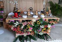 Dicas de decoração com caixas / Decoração de noivado