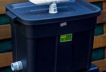 Black soldier fly compost bin