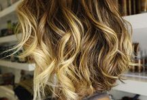 ombre hair......aka naturally blonde streaked!