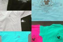 Nadruk na polówkę full kolor+ folia flex / FULL Kolor na bawełnie