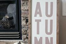 All Things Fall / fall decor, fall recipes, fall porches, fall home decor