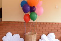 {LULUPOP} BALLOON PARTY / Fun & colourful balloon theme for a 1st birthday party. Styling - LuluPop Stationery & Supplies - Bash Paperie Photography - Heather Fitchet Balloons - Balloons Just 4 U