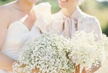 Wedding Day Flowers / Bouquets and Wedding Decorations. Ideas and inspirations for your wedding day. Ceremony flowers and reception flowers.