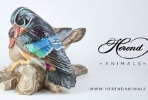 Herend Birds for Hunters