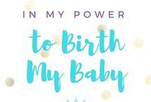 Birthing my baby ⭐️