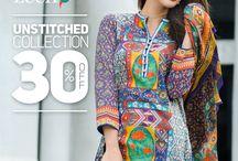 ZEEN - Designer Unstitched Collection 2014-15