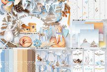 CT Reginafalango / Pages de scrap digital réalisées avec les kits de Reginafalango