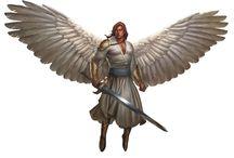 Angel • Light • Male