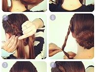 try this crossed bun