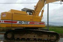 0.8m³ excavator KATO HD700VII for sale / used KATO HD700VII excavator for sale;  0.8m³ Japan excavator HD700-7 for sale;
