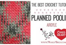 Planned pooling crochet
