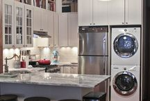 Kitchen and Laundry combo