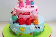 tortas de nenas